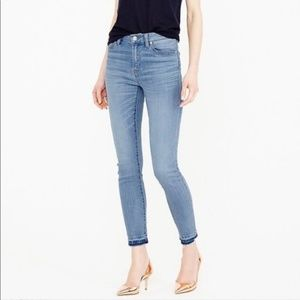 J. Crew Lookout High Rise Skinny Crop Jeans Sz 24